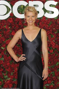 Claire Danes stuns at the Tony Awards in a satin gown with Hugh Dancy Satin Gown, Satin Dresses, Gowns, Claire Danes, Vanity Fair, Carrie Mathison, Jane Krakowski, Hugh Dancy, Glamour