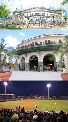 Sarasota's recently remodeled Ed Smith Stadium is the Spring home of the Baltimore Orioles.