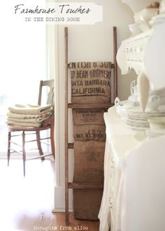 Thoughts from Alice: Farmhouse Touches in the Dining Room {a look back}