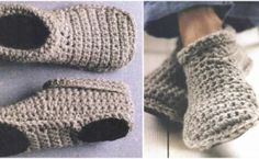 Slipper Boots free crochet pattern from newdiydesign.eu
