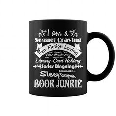 BOOK JUNKIE SHIRT MUG