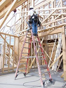 Home Improvement: Tips On Working With Contractors || Image Source: https://upload.wikimedia.org/wikipedia/commons/thumb/7/7e/Ladder_fall_prevention_%289253630705%29.jpg/220px-Ladder_fall_prevention_%289253630705%29.jpg