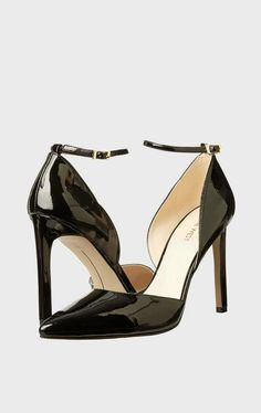 Black patent leather. Gorgeous.