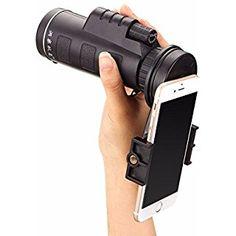 M.Way Universal 10x40 Telephoto Lens Cell Phone Telescope
