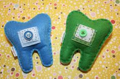 ToothFairy Pillow for the classroom pack 1 by MikaLuvzArt on Etsy, $15.00