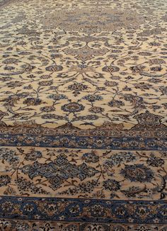 Nain rugs are constructed using the Persian knot and typically have between 300…