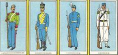 Militaria Federal (Uniformes y armas) - Antiguas figuritas con uniformes argentinos del siglo XIX