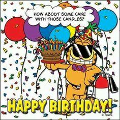 Garfield Bircthday Wishes Happy Birthday Garfield