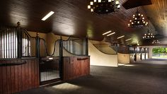 A lovely example of the Euro inspired Kensington series for block wall construction - by Classic Equine Equipment