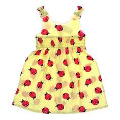 Summer Ladybug Dress $8