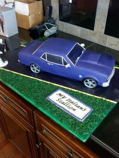 Going to try to make this for my husbands bday #carguy #mustang