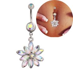 Get This Belly Button Ring for just $16.95 (instead of $19.95) Now! - FREE SHIPPING! Be Sure To Claim Yours Before They're Gone! Payment is Guaranteed To Be 100% Safe and Secure Using Any Credit Card