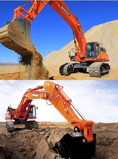 Heavy Machinery Online: Doosan's presents: DX490LC and DX530 Excavators
