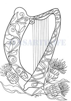 phee mcfaddell artist love her art free coloring page