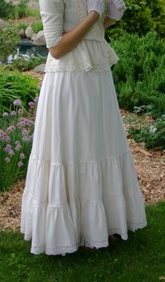 Cotton Skirt at Recollections Historic Clothing Company $89.95