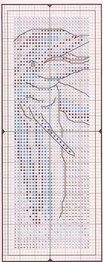 Cross stitch - dolphin bookmark
