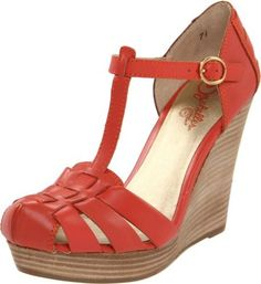 Seychelles- Good Intentions T-Strap Wedge