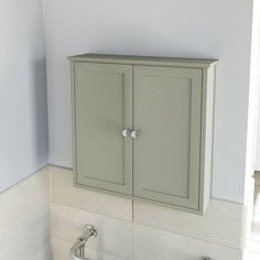 Camberley Sage Wall Mounted Cabinet