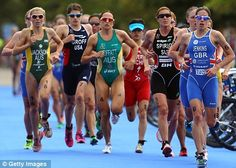 "Helen Jenkins, my bet for London 2012 Triathlon... As much as I'd like it to be Paula F. (OH CANADA!!!), Jenkins has ""IT."""