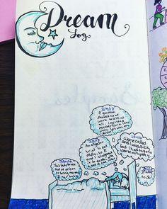 Bullet journal dream log