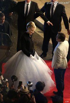 Nicole Kidman  sur le plateau de Grace de Monaco