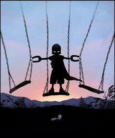 """Magneto"" When I Grow Up I Wanna Be... Super Cute Villain and Hero Geek Art - News - GeekTyrant"