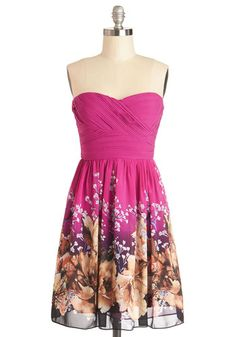 Island Retreat Dress, #ModCloth I really like this dress even tho it is hot pink but it does have purple in it