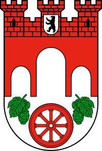 Wappen des Bezirks Pankow seit 28. Juli 2009