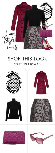 """""""Pattern Series:  Paisley"""" by brandonandrews500 ❤ liked on Polyvore featuring Burberry, Victoria, Victoria Beckham, STELLA McCARTNEY, Jessica Simpson, Lacoste and Jimmy Choo"""