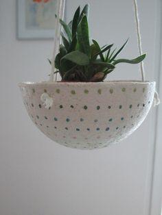 Ceramic Rustic Succulent PlanterFlower by TatjanaCeramics on Etsy