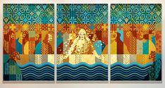 Arte doRio para O mar 1 - Menote Cordeiro