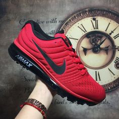 Nike Air Max 2017 red color shoes