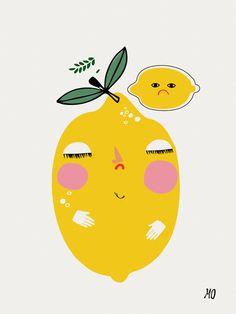 """20 euros >> Image of """"Bitter Lemons"""", de Mariann Doherty"""