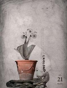 21/07/2014 Naturaleza muerta #collage #art #digital #natural #death #artist #pintor #illustration #ilustracion by Gustavo Solana / #losdiascontados