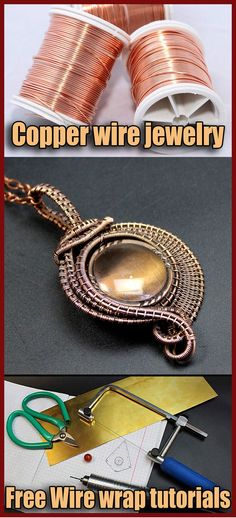 Copper wire jewelry DIY. Copper wire jewelry making. How to make copper wire jewelry? Does copper wire tarnish? What is the best gauge wire for jewelry making? Solid copper wire is also known as raw copper wire or bare copper wire: there is no plating or coating over the copper. Leave the copper bright and shiny, or oxidize it to create an antiqued look.