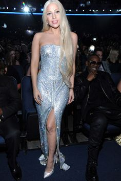 Lady Gaga at the AMA's in a strapless vintage Versace gown with Swarovski crystals Lady Gaga Artpop, Lady Gaga Outfits, Versace Gown, Lady Gaga Versace, Strapless Dress Formal, Prom Dresses, Formal Dresses, Lady Gaga Pictures, Versace Fashion