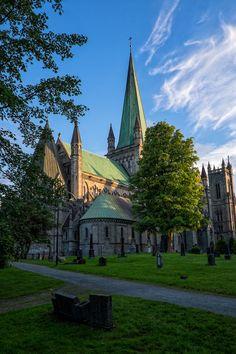 Nidaros Cathedral Trondheim Norway