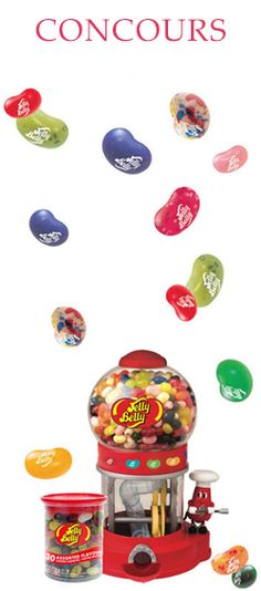 Gagnez 1 des 30 machines Jelly Belly. Fin le 20 avril. http://rienquedugratuit.ca/concours/30-machines-jelly-belly-2/
