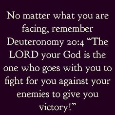 Deuteronomy 20:4 #Amen