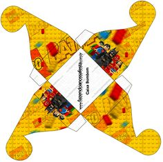 Caixa Bombom Batman Lego Super Heroes: