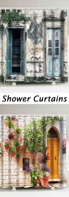 home deocr ideas:Shower Curtains