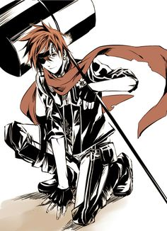 D.Gray-man Lavi