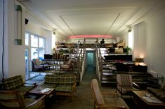 """Mein Haus am See"" café-bar in Berlin Mitte (Photo: Paul Sullivan) Cafe Bistro, Cafe Bar, Cafe Restaurant, Berlin Cafe, Haus Am See, Pubs And Restaurants, Cafe Interior, Interior Sketch, Green Rooms"