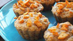 Aceste briose cu pere, gutui si mac sunt niște gustări excelente pentru copii în sezonul rece, alături de brioșele cu mere, nuci, ghimbir și scorțișoară sau