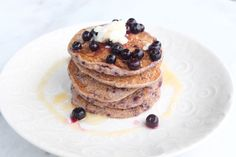 World's Easiest Pancake: gluten, egg & dairy free