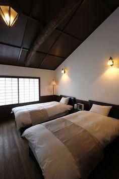 MACHIYA RESIDENCE INN KYOTO 京宿家 有済はとば庵 2階寝室