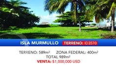 Terreno frente a la laguna en #isladorada, #cancun Info@eproperties.mx #eproperties #realestate #bienesraices
