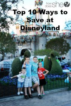 Ways to save money at Disneyland. Including discount tickets!