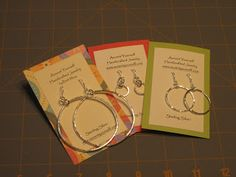 Accent Yourself Handcrafted Jewelry: How to Make Your Own Earring Cards