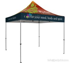 3X3 Fullcolor Print Outdoor Advertising Folding Popup Canopy Marquee Event Tent